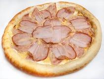 Pizza, generi differenti di pizze al menu del ristorante e pizzeria Fotografie Stock