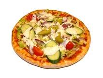 Pizza - girocompases Fotografía de archivo