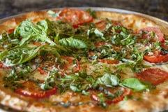 Pizza gourmet Fotografia de Stock