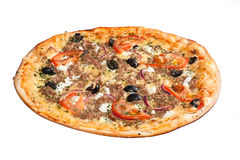 Pizza grecque Photographie stock libre de droits