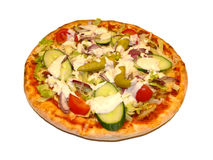Pizza - Gyros Stock Photography