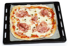 Pizza ham Stock Photos