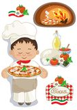 Pizza-Haus Lizenzfreies Stockbild
