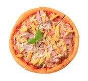 Pizza Hawaï photographie stock