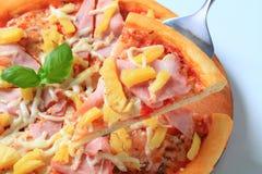 Pizza Hawaï image libre de droits