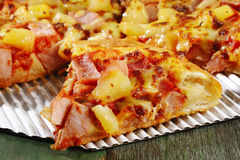 Pizza hawaïenne Image stock
