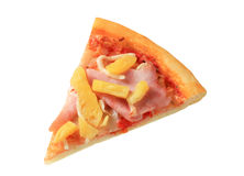 Pizza hawaïenne Photographie stock