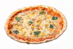 Pizza hawaiana Fotos de archivo