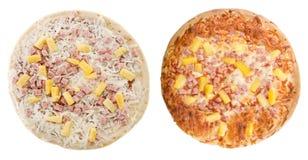 Pizza hawaiana Immagini Stock Libere da Diritti