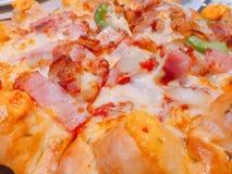 Pizza Hawaii Stockbilder