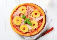Pizza Hawaii Royaltyfria Bilder
