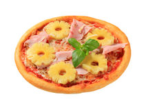Pizza Hawaii Royalty Free Stock Photography