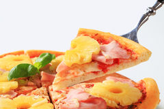 Pizza Hawaii Royalty Free Stock Photo