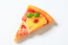 Pizza Hawaii Stock Image