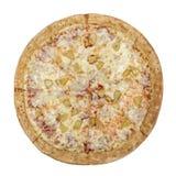 Pizza Hawaiian. Tomato sauce Stock Photo
