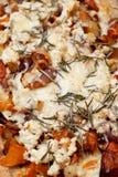 Pizza hecha en casa sana Foto de archivo