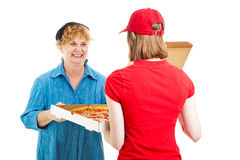 Pizza is Here royalty free stock photos
