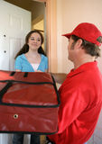 Pizza Home Delivery Royalty Free Stock Photos