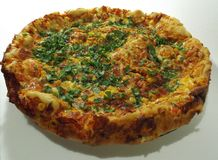 Pizza homemade Royalty Free Stock Photography