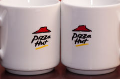 Pizza hut logo Stock Photography