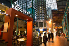 Pizza Hut at Resort World Genting Stock Images