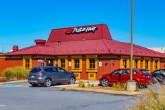 Pizza Hut restaurang Fotografering för Bildbyråer