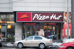 Pizza Hut restaurant express Royalty Free Stock Image