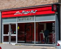 Pizza Hut Swindon fotografia de stock royalty free