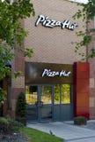 Pizza- Hutgaststätte Lizenzfreies Stockfoto