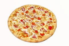 pizza huvudsaklig kurs royaltyfri fotografi