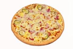 pizza huvudsaklig kurs royaltyfri bild