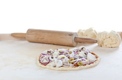 Pizza Ingredients Stock Images