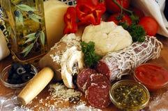 Pizza Ingredients Stock Photos