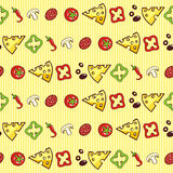 Pizza ingredients Stock Photography