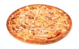 Pizza isolada Fotografia de Stock