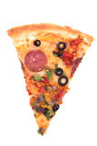 Pizza Isolated Stock Image