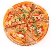 Pizza isolated Royalty Free Stock Photo