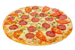 Pizza isolated Stock Images