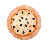 Pizza   .Isolated Stock Image