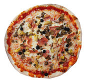 Pizza, isolated on background Royalty Free Stock Image