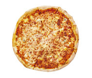 Pizza. Isolated on the white background Stock Image