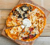Pizza italian Stock Photography