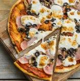 Pizza italian Stock Photo