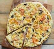 Pizza italian Royalty Free Stock Photos