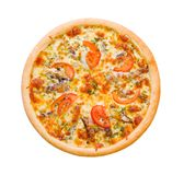 Pizza and italian kitchen. Royalty Free Stock Image