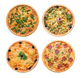 Pizza and italian kitchen Isolated Stock Photos
