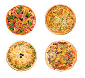 Pizza and italian kitchen. Isolated Royalty Free Stock Photos