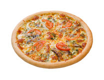 Pizza and italian kitchen. sprats Royalty Free Stock Images