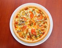 Pizza and italian kitchen. Studio. Stock Images