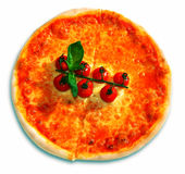 Pizza and italian kitchen Royalty Free Stock Photo